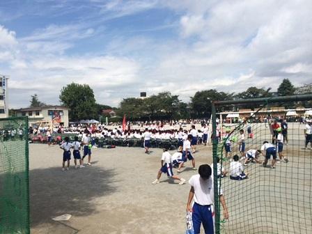 我孫子市立我孫子中学校で9月13日に体育祭が行われました!画像