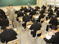 ☆私立高校前期入試始まる☆画像