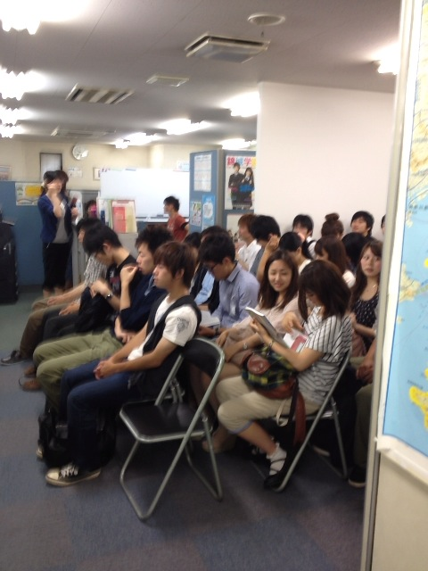 夏期講習の研修会に参加しました。画像